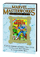 Image: Marvel Masterworks Vol. 138: Captain America Comics Nos. 13-16 HC  - Marvel Comics