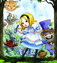 Image: Alice's Adventures in Wonderland Prose Collection HC  - IDW Publishing