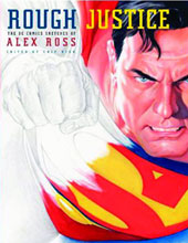 Image: Rough Justice: Alex Ross DC Comics Sketchbook HC  -