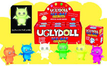 Image: Uglydoll Icebat GID Action Figure Bmb 6-Piece Set  -