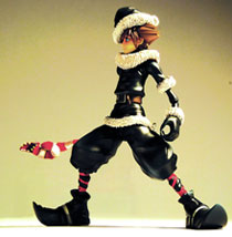 Image: Kingdom Hearts 2 Play Arts Sora Xmas Town Action Figure  -