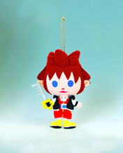 Image: Kingdom Hearts Avatar Stuffed Keychain Sora  -