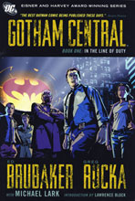 Image: Gotham Central Book 01: In the Line of Duty SC  - DC Comics
