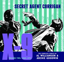 Image: X-9: Secret Agent Corrigan Vol. 02: 1969-1972 HC  - IDW Publishing