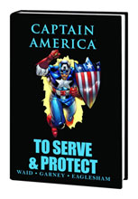Image: Captain America: To Serve & Protect HC  - Marvel Comics