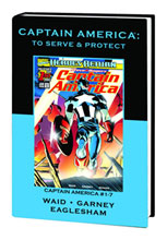 Image: Marvel Premiere Classic Vol. 065: Captain America: To Serve & Protect HC  - Marvel Comics