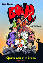 Image: Bone: Quest for the Spark Novel Book 01 SC  - Graphix