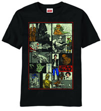 Image: Star Wars: Back to Boxes Black T-Shirt  (M) -