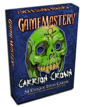 Image: Gamemastery Item Cards Carrion Crown Deck  - Paizo Publishing LLC