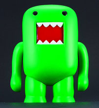 Image: Domo 4-Inch Vinyl Figure: Black Light Green  - Dark Horse