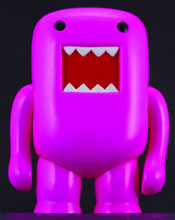 Image: Domo 4-Inch Vinyl Figure: Black Light Pink  - Dark Horse
