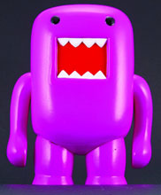 Image: Domo 4-inch Vinyl Figure: Black Light Purple  - Dark Horse