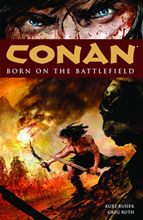 Image: Conan Vol. 00: Born on the Battlefield SC  (new printing) - Dark Horse