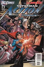 Image: Action Comics #6 (variant cover) (v0) - DC Comics