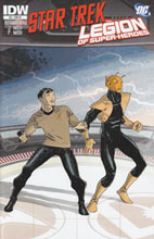 Image: Star Trek / Legion of Superheroes #5 (10-copy incentive cover) (v10) - IDW Publishing