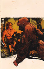 Image: Lord of the Jungle #3 (25-copy Francavilla virgin incentive cover) (v25) - D. E./Dynamite Entertainment