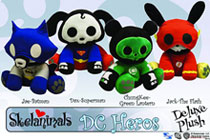 Image: Skelanimals Deluxe Plush: Superman Dax  -