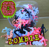 Image: Z.O.M.B.I.E. Series 2 Mini-Figure 100-Piece Display  -