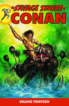 Image: Savage Sword of Conan Vol. 13 SC  - Dark Horse Comics