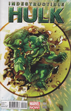 Image: Indestructible Hulk #4 (Now) (Ferry variant cover) - Marvel Comics