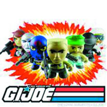 Image: The Loyal Subjects x G.I. Joe Mini-Figure 18-Piece Blind Mystery Box Display Series 01  - Other Designer Toys