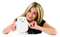 Image: Doctor Who Plush: Adipose  (8-inch) - Doctor Who Import Toys & Models