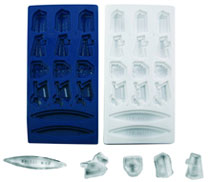 Image: Doctor Who Tardis Ice Bucket & Tray Combo  - Doctor Who Import Toys & Models