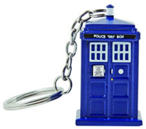 Image: Doctor Who Tardis Keychain  - Doctor Who Import Toys & Models