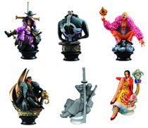 Image: One Piece Chess Piece Collection 6-Piece Blind Mystery Box Display Vol. 3  - One Piece