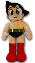 Image: Astro Boy Plush: Atom  (small) - Astro Boy