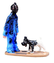 Image: Tintin Collector Expressions - Tintin Trio Lead Figurines  - Tintin