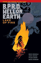 Image: B.P.R.D. Hell on Earth Vol. 08: Lake of Fire SC  - Dark Horse Comics