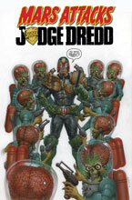 Image: Mars Attacks Judge Dredd SC  - IDW Publishing