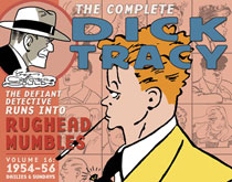Image: Complete Chester Gould Dick Tracy Vol. 16: 1954-1956 HC  - IDW Publishing