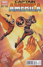 Image: Captain America #17 (variant cover - Morales) - Marvel Comics