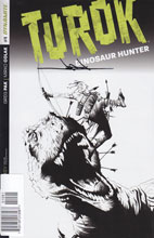 Image: Turok: Dinosaur Hunter #1 (500-copy incentive cover - Lee Rare signed) - Dynamite