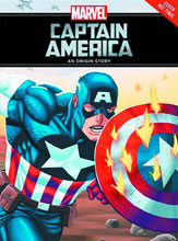 Image: Captain America: An Origin Story HC  (young readers) - Marvel Press