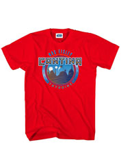 Image: Star Wars: Cantina Tee T-Shirt [Red]  (L) -