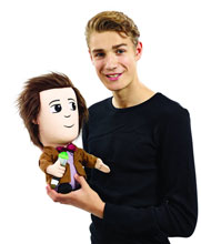 Image: Doctor Who Plush: 15-inch Talking Matt Smith  (w/Led Light) -