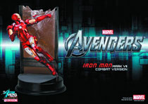 Image: Avengers Action Hero Vignettes: Iron Man MK.7  -