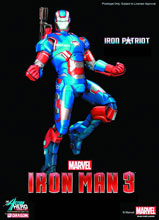 Image: Iron Man 3 Action Hero Vignettes: Iron Patriot  -
