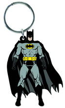 Image: Batman Character Soft Touch PVC Keyring  -