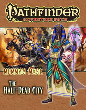 Image: Pathfinder Adventure Path Vol. 79: The Half-Dead City SC  -