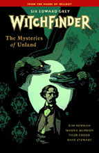Image: Sir Edward Grey, Witchfinder Vol. 03: The Mysteries of Unland SC  - Dark Horse Comics