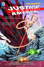 Image: Justice League of America Vol. 02: Survivors of Evil SC  (N52) - DC Comics