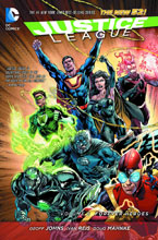 Image: Justice League Vol. 05: Forever Heroes SC  (N52) - DC Comics