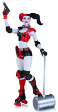 Image: DC Comics Super-Villains Action Figure: Harley Quinn  - DC Comics