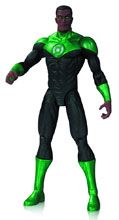 Image: DC Comics New 52 Action Figure: Green Lantern John Stewart  - DC Comics
