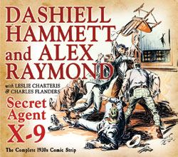 Image: Secret Agent X-9 by Dashiell Hammett & Alex Raymond: The Complete 1930s Comic Strip, 1934-1936 HC  - IDW Publishing