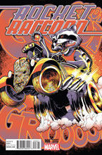 Image: Rocket Raccoon #8 (Ponsor variant incentive cover - 00821) (25-copy) - Marvel Comics